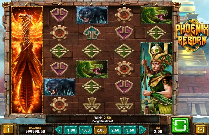 phoenix reborn slot screen