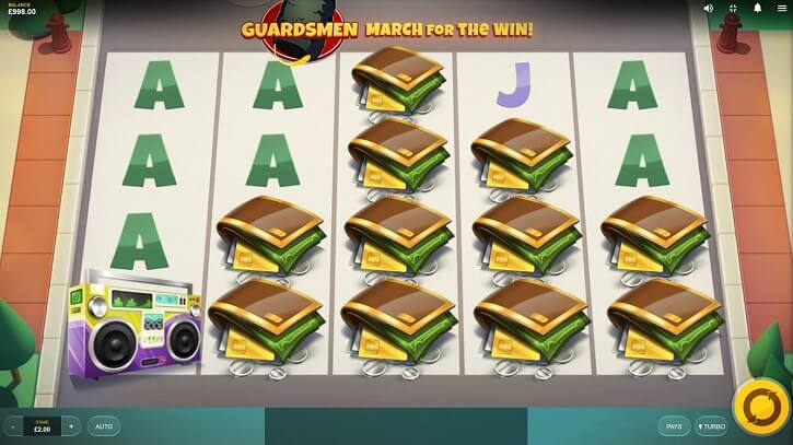 spin town slot screen