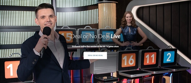 deal or no deal live kasiino screen
