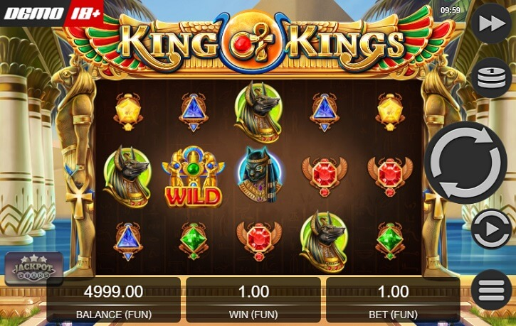 king of kings slot screen