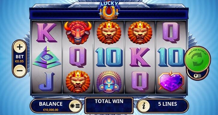 lucky u slot screen
