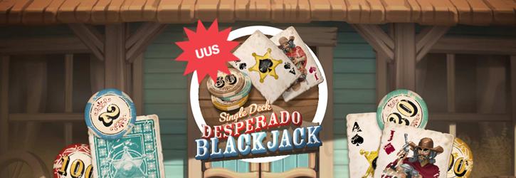 paf kasiino desperado blackjack promo