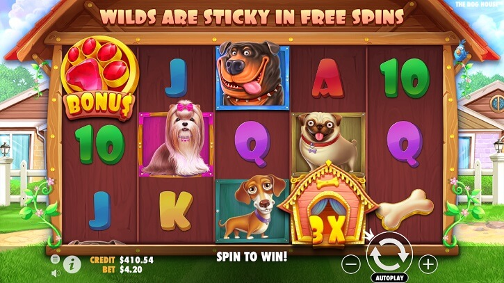 the dog house slot review