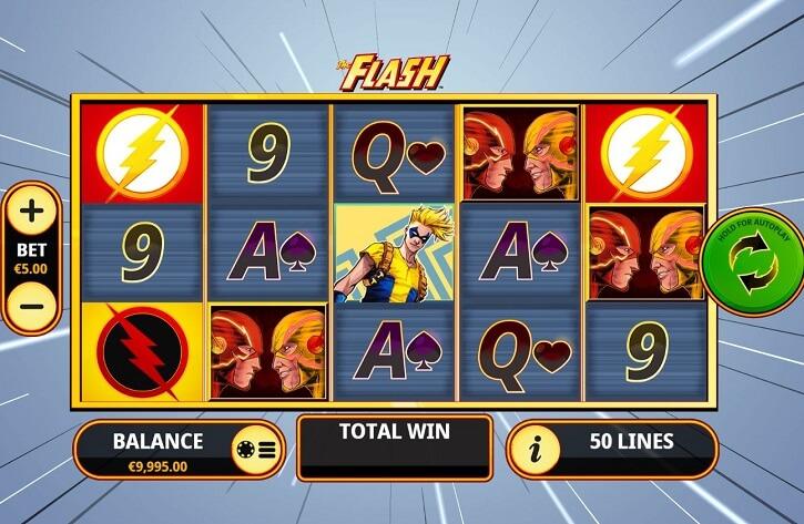 the flash slot screen