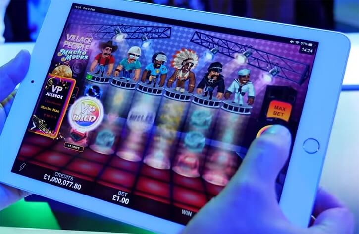 village people macho moves slot mobile