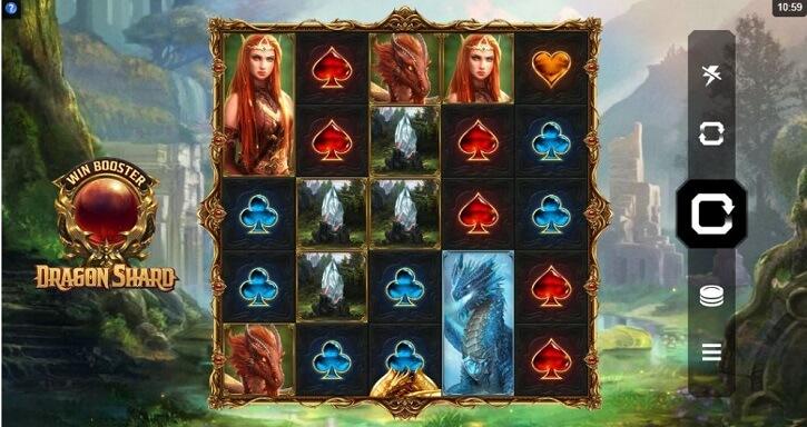 dragon shard slot screen