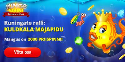 kingswin kasiino fish party promo