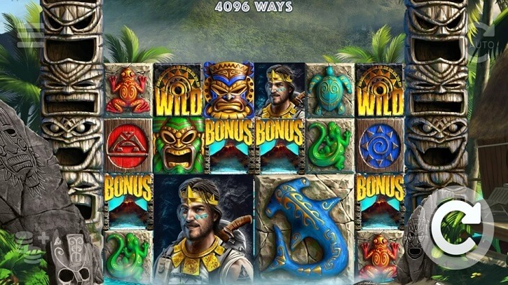 tahiti gold slot screen