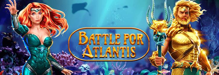 battle for atlantis slot gameart