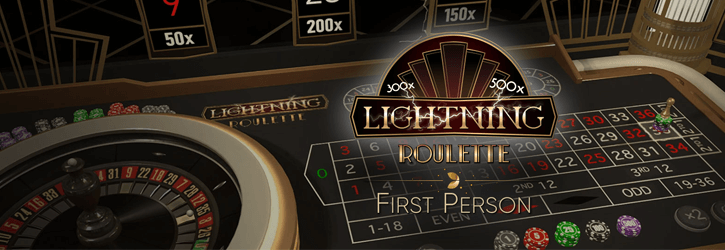 lightning roulette first person evolution