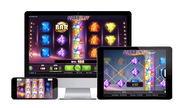 starburst slot devices