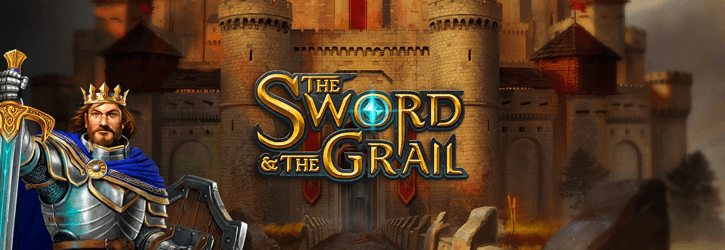 the sword and the grail slot playngo