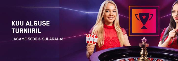 maria kasiino live turniir kampaania