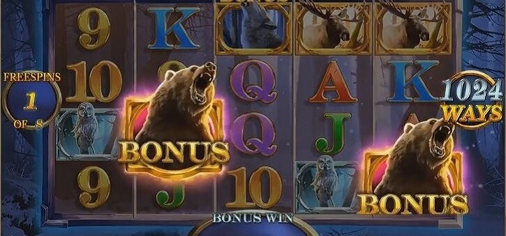 giant grizzly slot screen