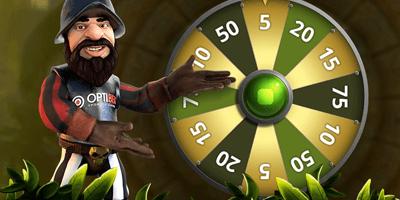 optibet kasiino gonzo wheel