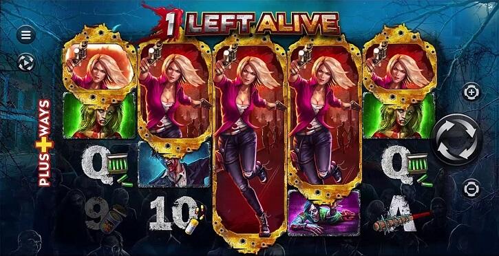 1 left alive slot screen