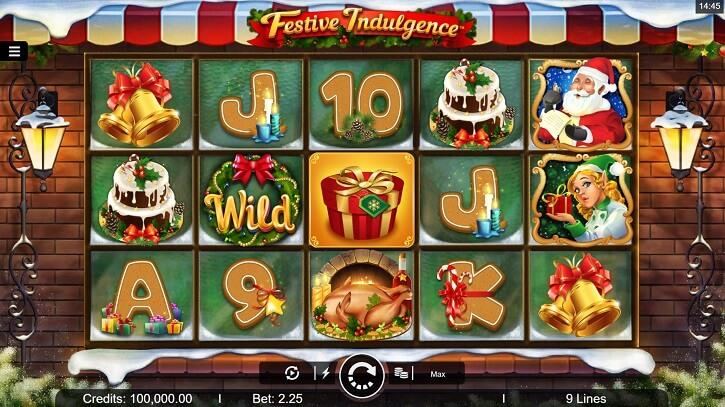 festive indulgence slot review