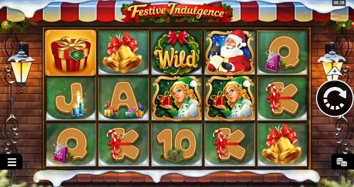 festive indulgence slot screen
