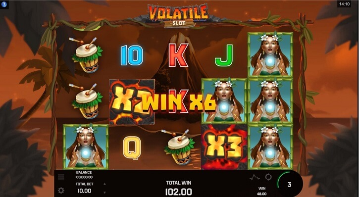 volatile slot review