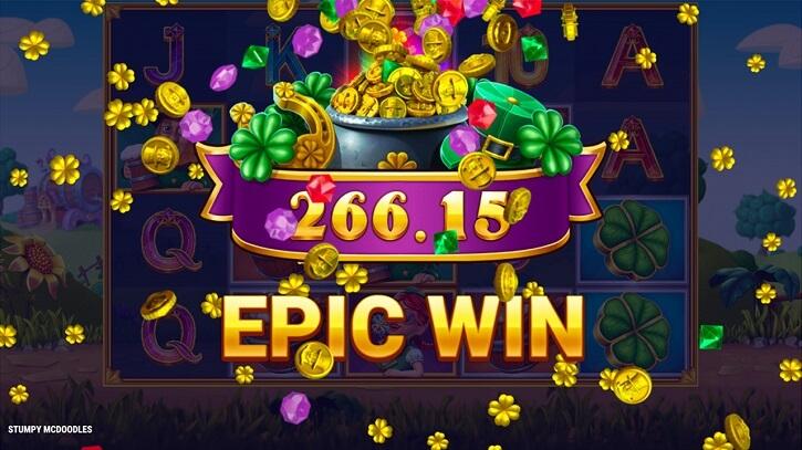 stumpy mcdoodles slot epic win