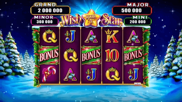 wish upon a star slot screen