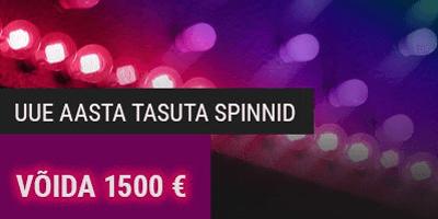 coolbet kasiino uue aasta tasuta spinnid