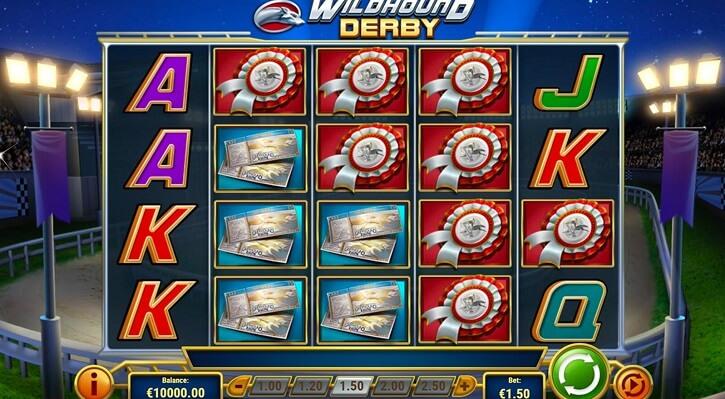wildhound derby slot screen