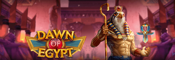 dawn of egypt slot playngo