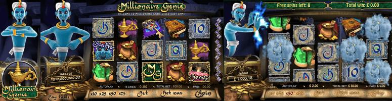 millionaire genie jackpot slot