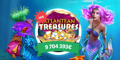 paf kasiino atlantean treasures jackpot