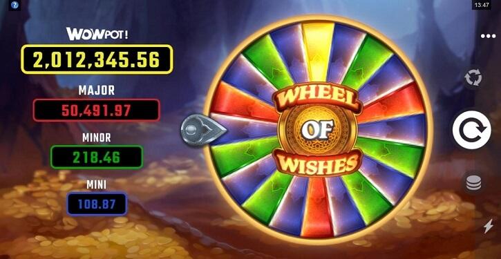 wheel of wishes slot bonus