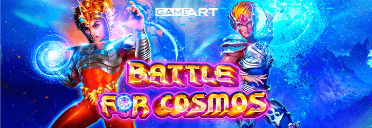 battle for cosmos slot gameart