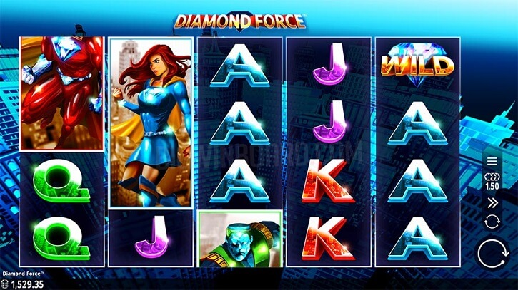 diamond force slot screen