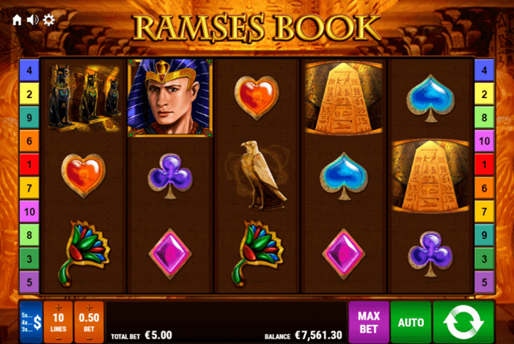 ramses book slot screen