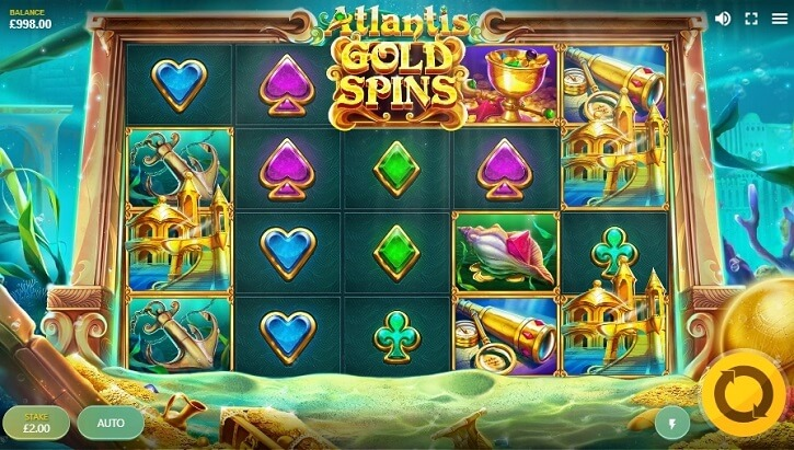 atlantis slot screen