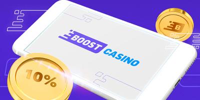 boost kasiino cashback