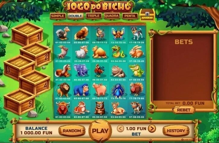 jogo do bicho slot screen