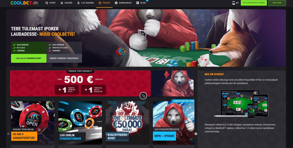 coolbet pokker website