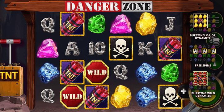 danger zone slot screen