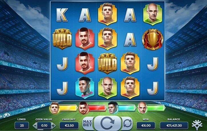 football glory slot screen