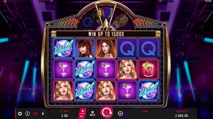ladies nite 2 slot screen