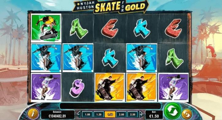 nyjah huston skate for gold slot screen