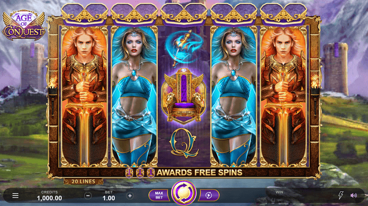 age of conquest slot preview
