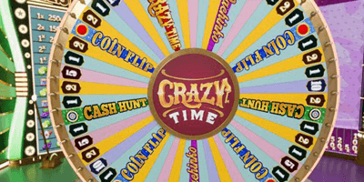 crazy time evolution gaming