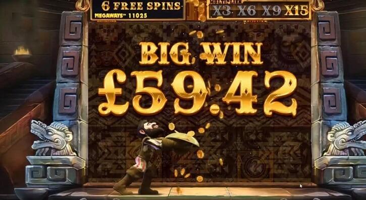 gonzos quest megaways slot freespins