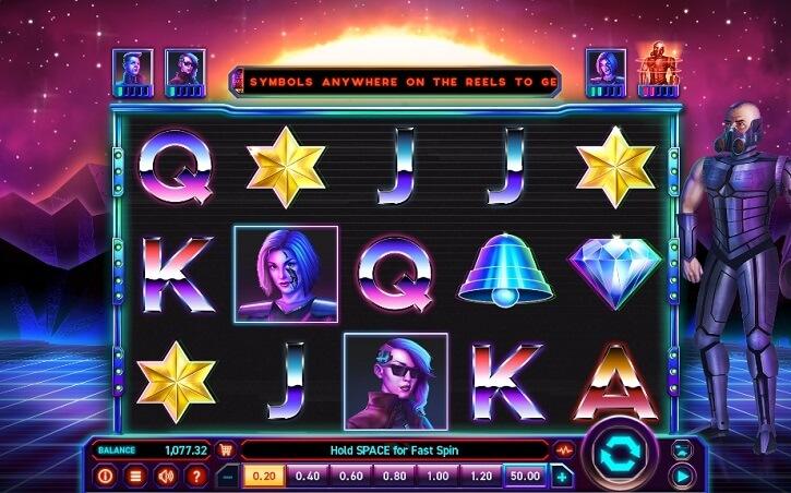 reel hero slot screen