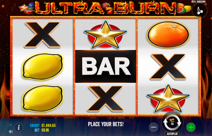 ultra burn slot screen