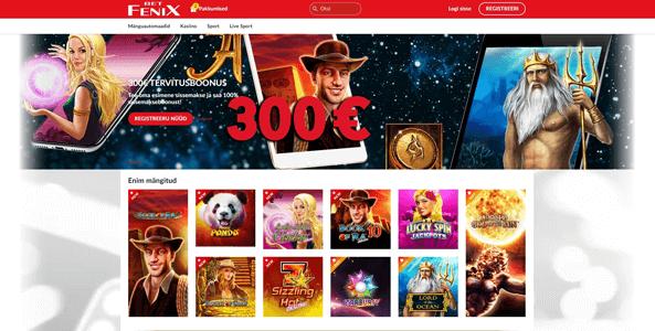 fenixbet kasiino veebileht