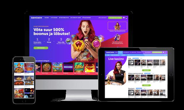 supercasino veebileht mobile
