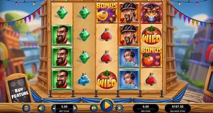 la fiesta slot screen